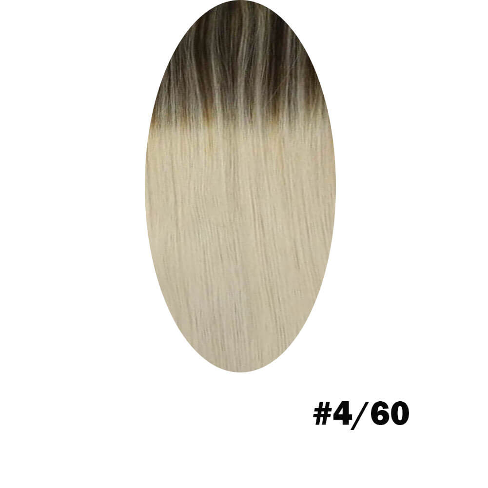 brown to blonde hair extension