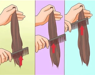 Comb hair extensions