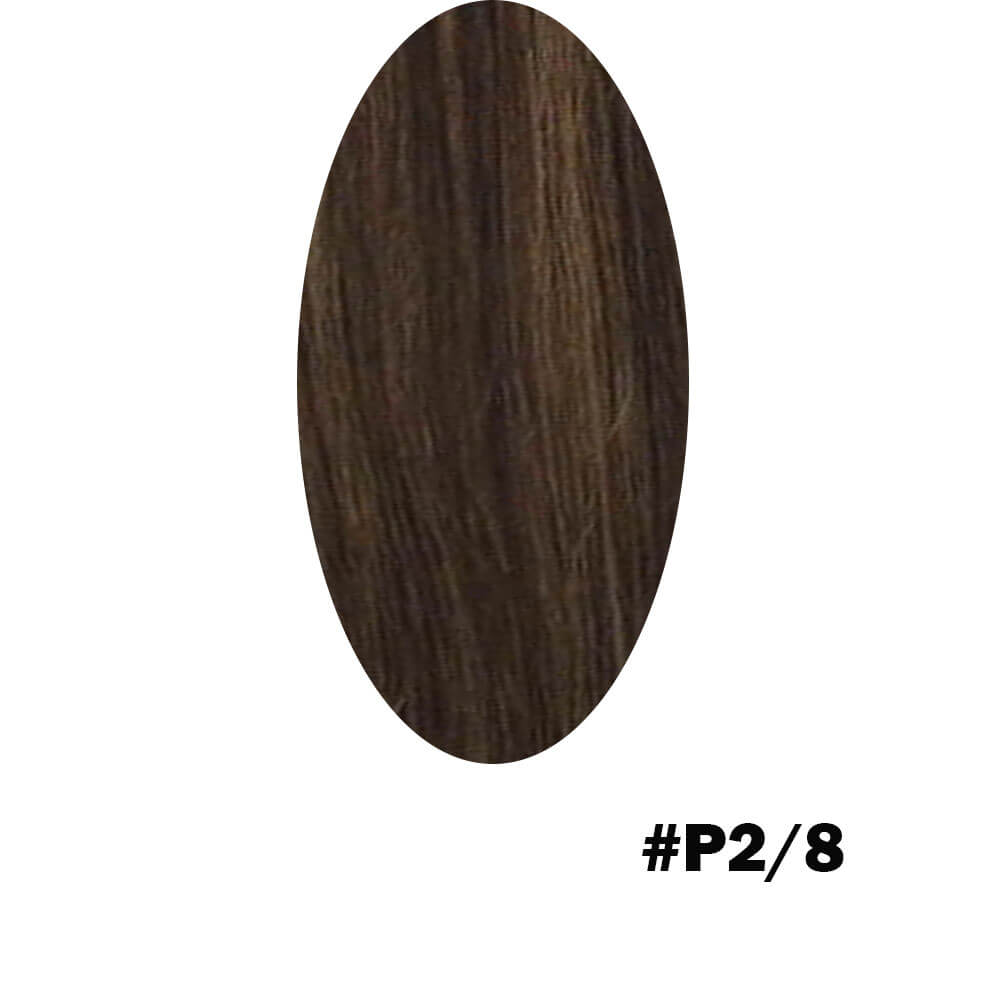 brown to light brown highlight color