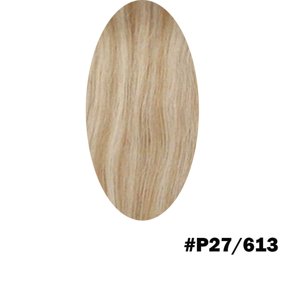 Piano color blonde hair extension
