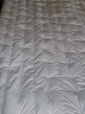 Handstitched kapok fiber doona duvet comforter quilt can be tailored to suit cold or hot sleepers