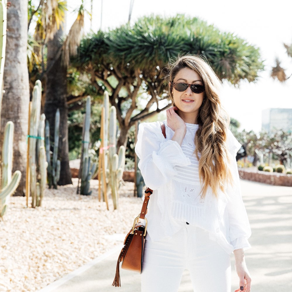 How to Wear Your White Jeans 3 Ways This Season