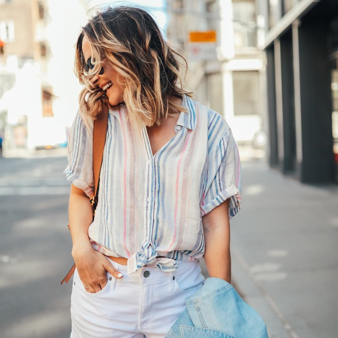ad62fe91bb The Shirt Your Summer Wardrobe Needs Now - Mission Edit