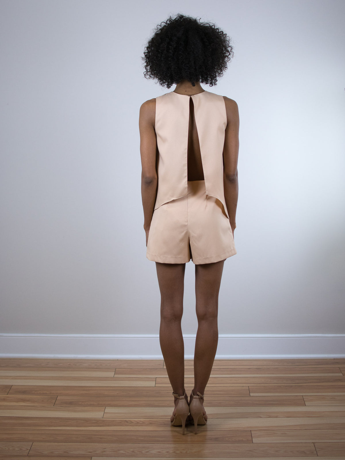 Blaque Label Open Back Romper - MissionEdit