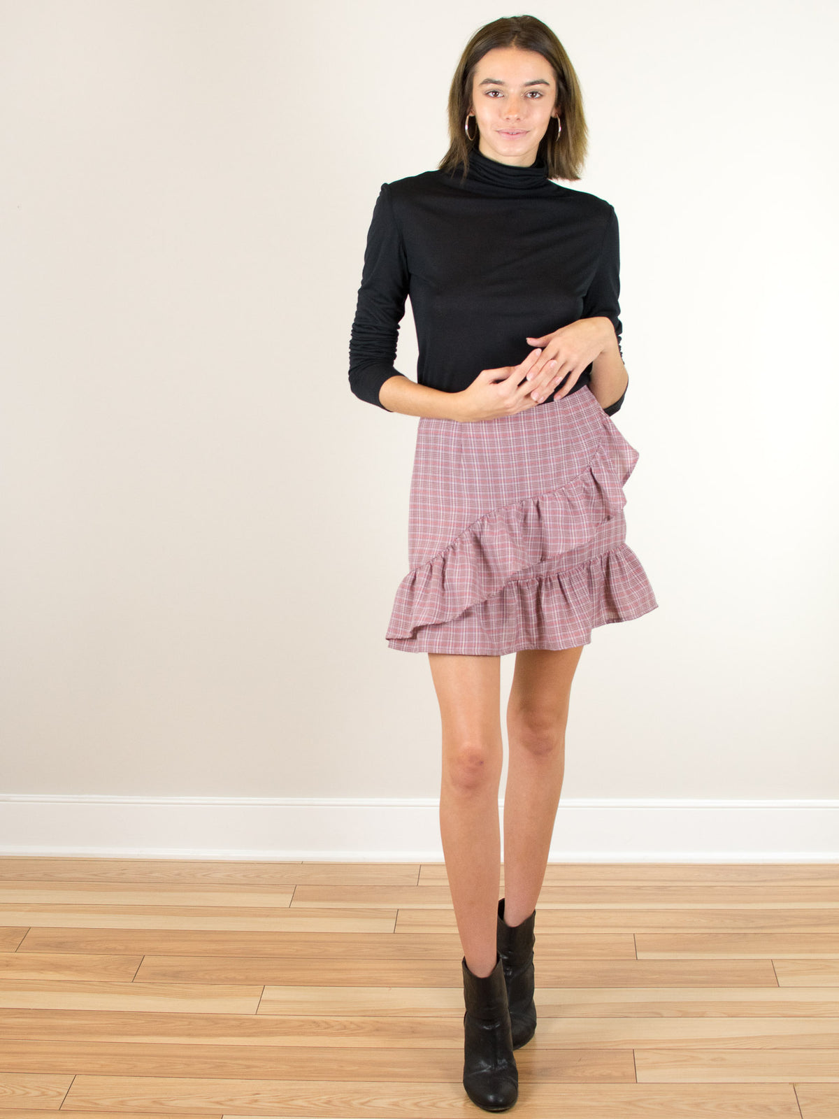 The Fifth Label Collegiate Check Skirt - MissionEdit