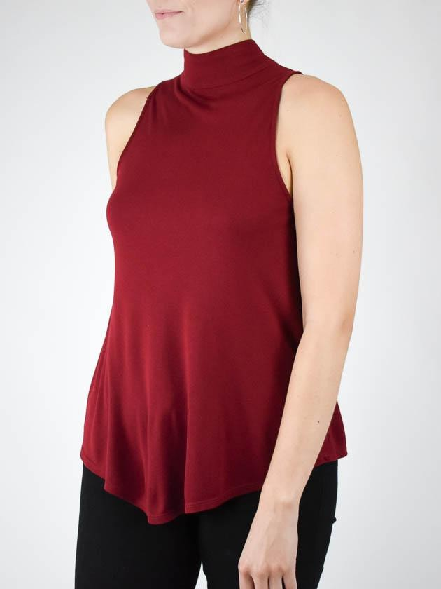 Twenty Tees Cavendish cashmere high neck top - MissionEdit