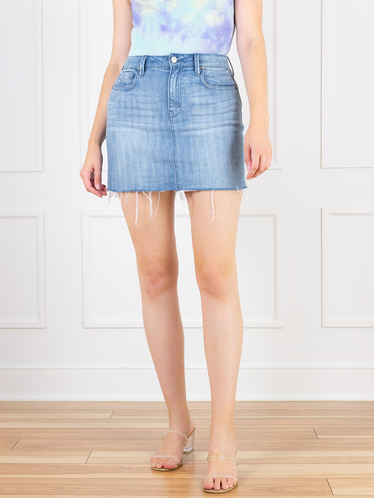 Nico High Waist Mini Skirt