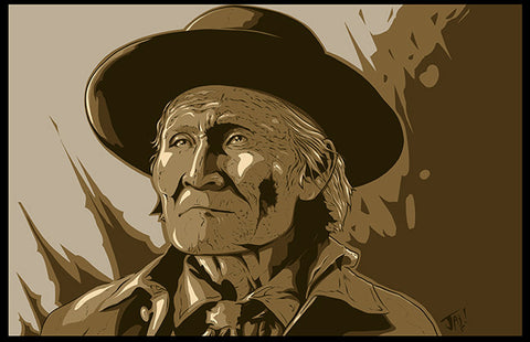 Signed Geronimo Art Print