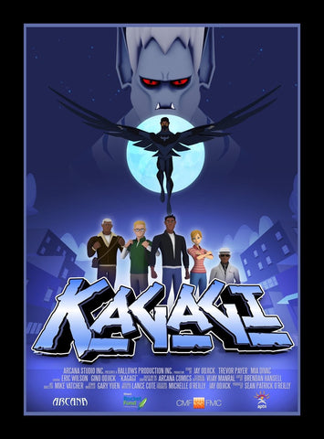 Signed Kagagi Tv series poster