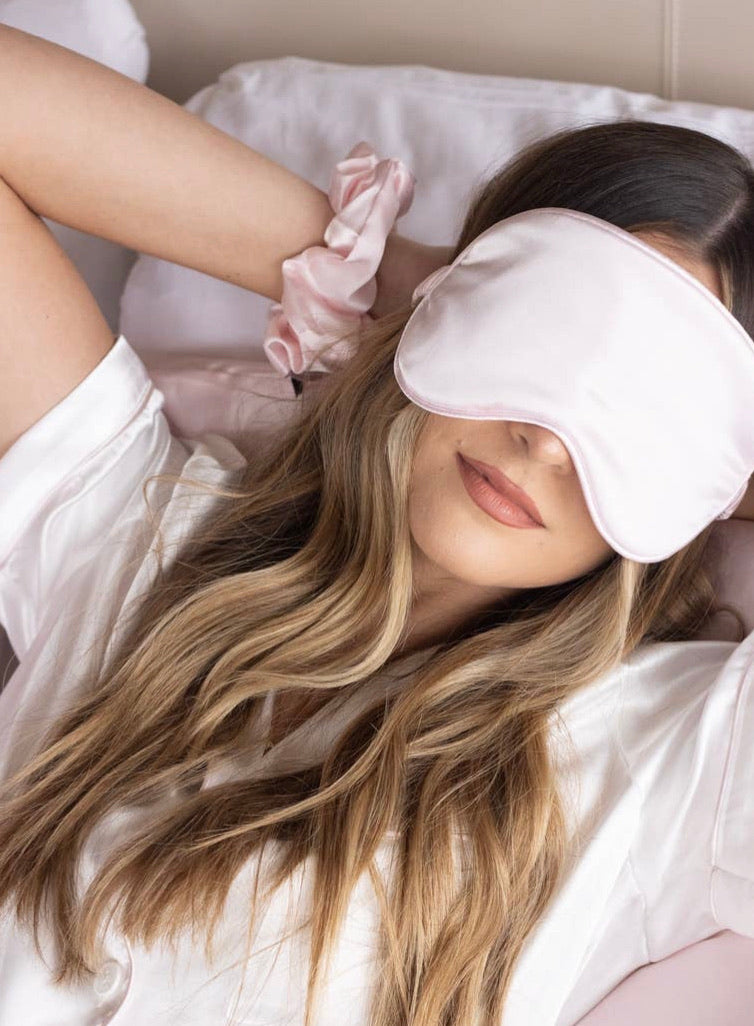 Blush Silky Sleep Mask