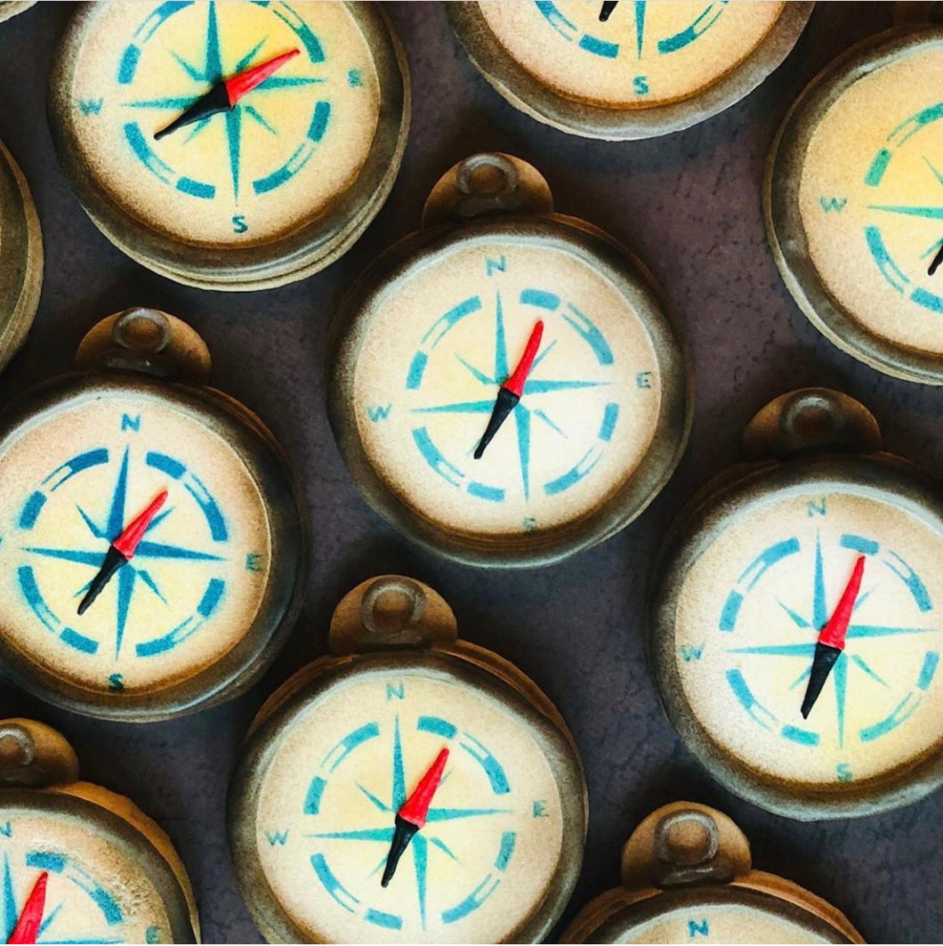 Compass Sugar Cookies