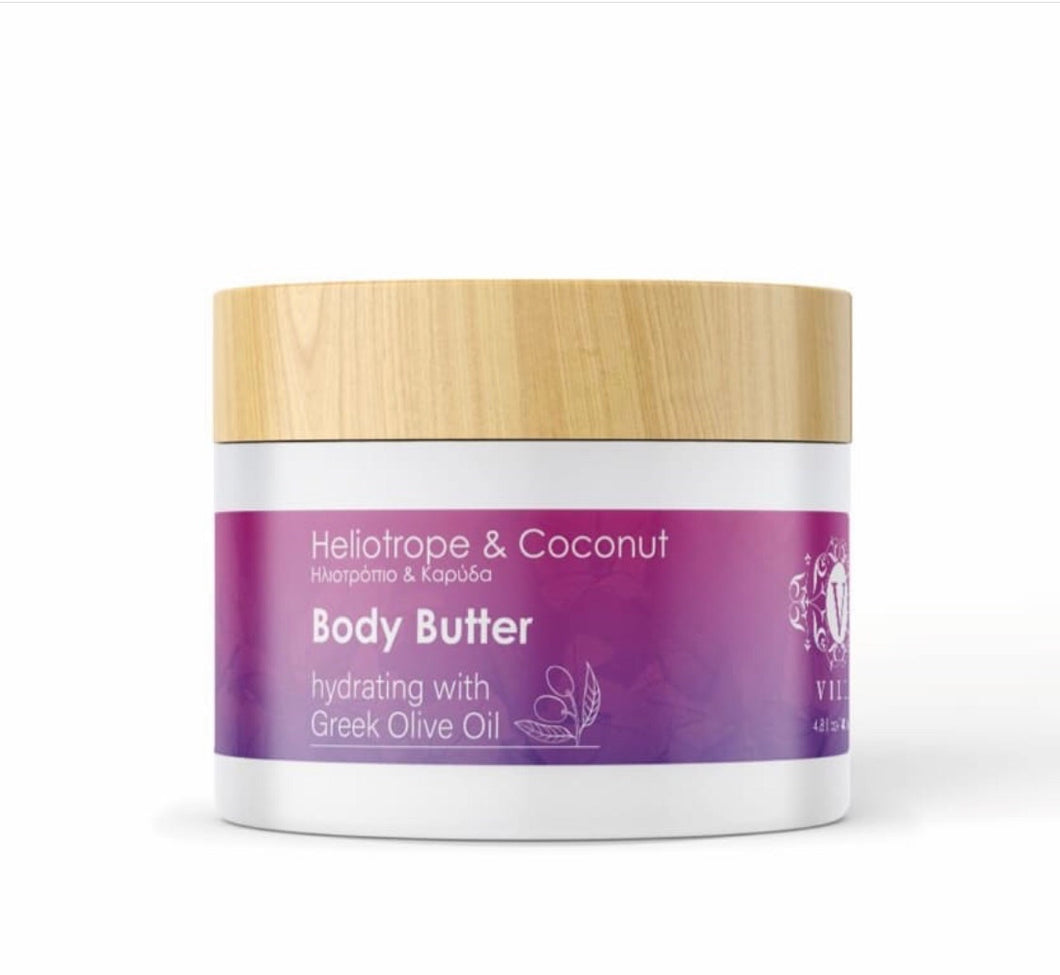 Heliotrope & Coconut Body Butter
