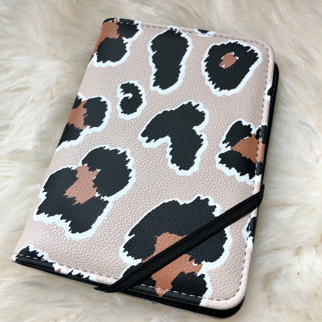Leopard Passport Case