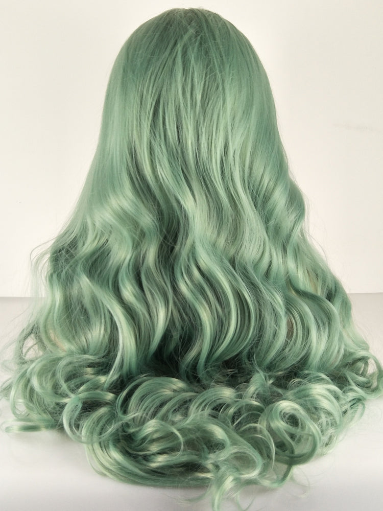 Christina Green Synthetic Lace Front Wig DL0071 - princesswig