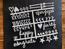 Party pack letterset