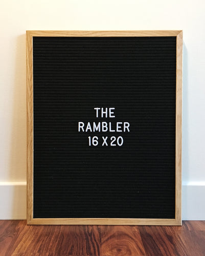 The Rambler - Premium black 16