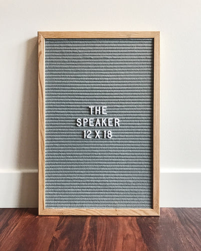 The Speaker - Premium grey 12