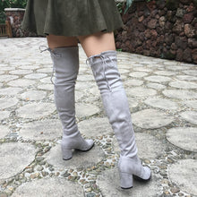 Chic Suede High Boots