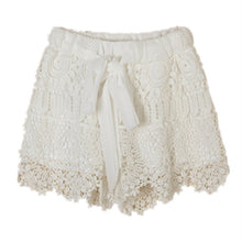Lace Hollow Out Shorts