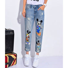 Casual Ankle-Length Boyfriend Mickey Pants