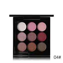EyeShadow Glitter Palette - 9 Colors
