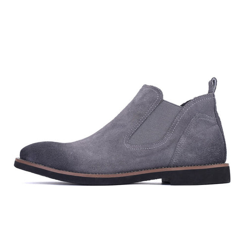 Suede Leather Autumn Chelsea Boots