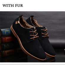 Suede Leather Casual Men Shoes