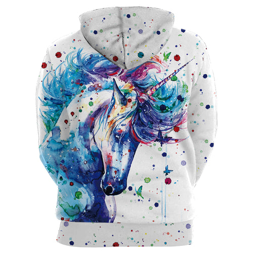 Unicorn 3D Printed Hoodies