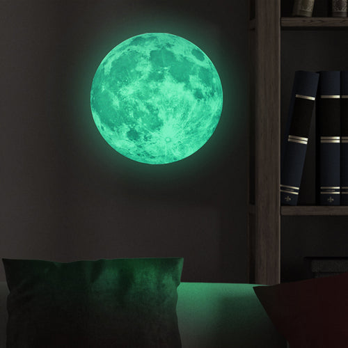 Luminous Moon Glow In The Dark Mural