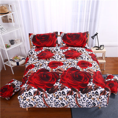 Gorgeous Prints Queen Size Bedding Set