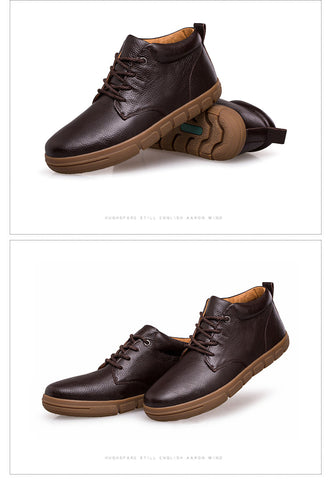 Leather Casual Warm Shoes
