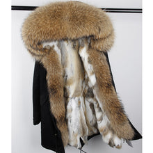 Fashion Hooded Fur Winter Coat