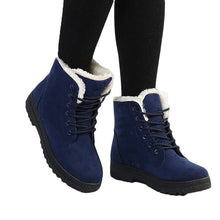 Thickened Fur Snow Boots
