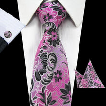 Pocket Square Men Tie Set