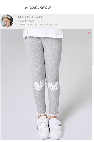 Pretty Heart Children Leggings