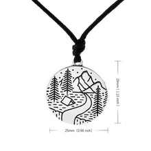 Himalayas Mountain Necklace