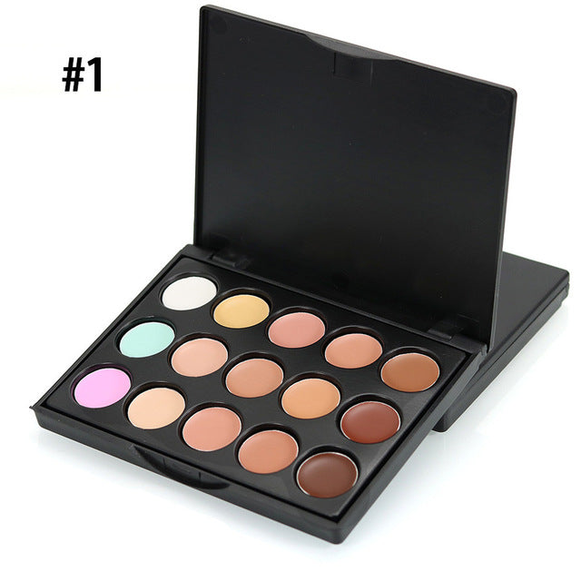 MIni 15 Colors Camouflage Palette