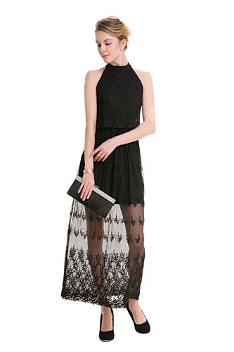 Fashion Lace Straight Dress