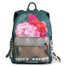 Floral Printing Backpack