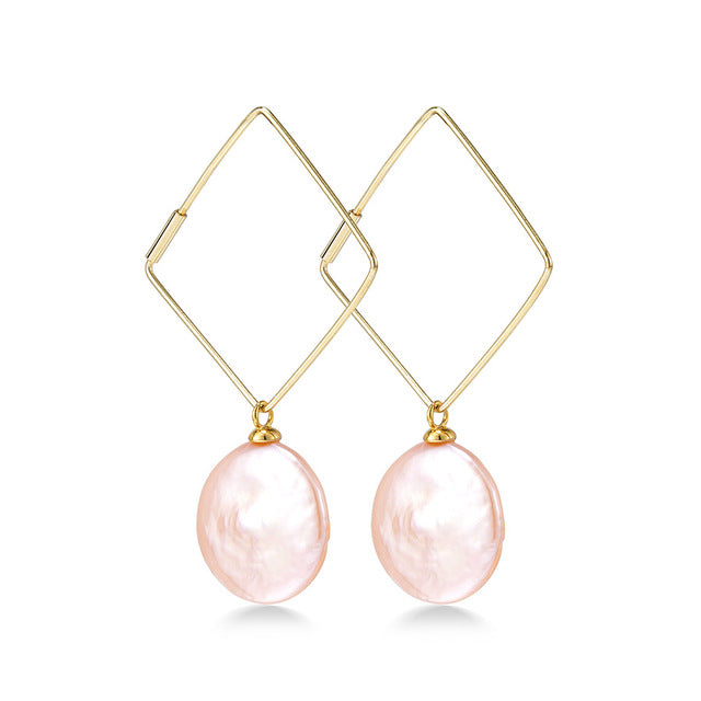 Fashion Natural Pearl Earrings