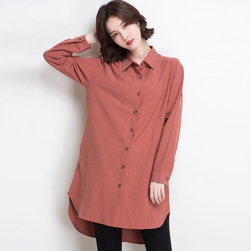 Vintage Long Sleeve Blouse