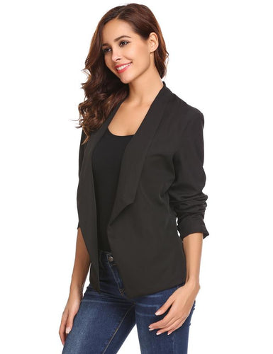 Asymmetrical Slim Fit Blazer