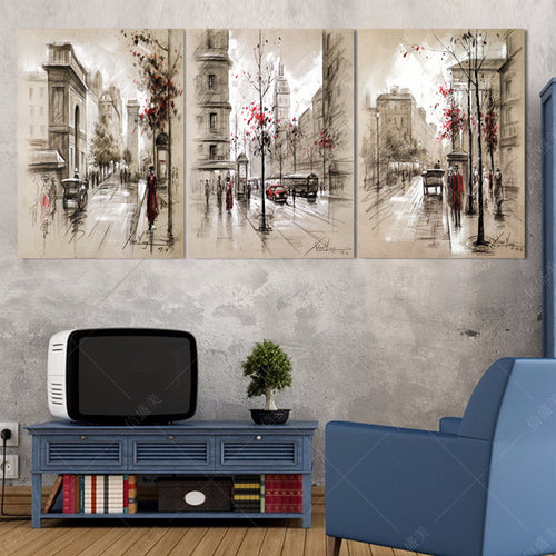 Modern Wall Pictures Oil Paintings Art Flower