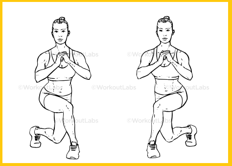 Alternating Curtsy Lunge