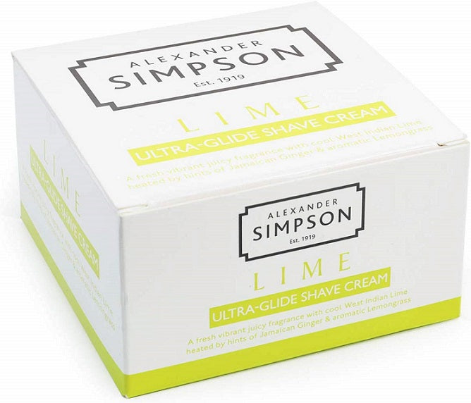 Alexander Simpson Lime Ultra-Glide Shave Cream