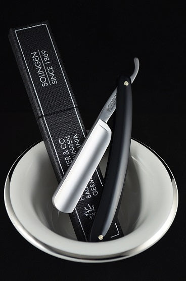 Boker Classic Straight Razor and Strop Set