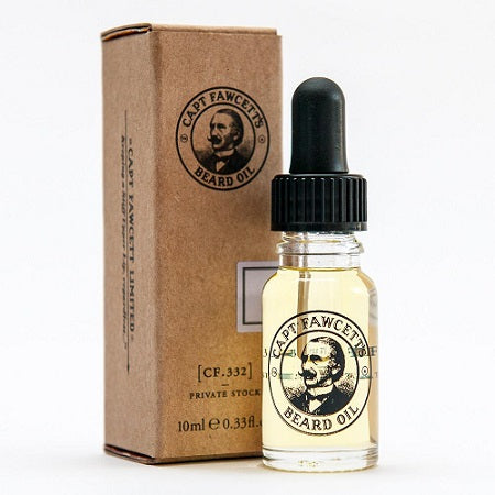 Captain Fawcett's Private Stock Beard Oil Travel Size