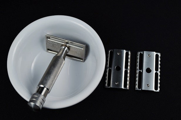 Above The Tie Atlas 5 Piece Stainless Steel Safety Razor Set