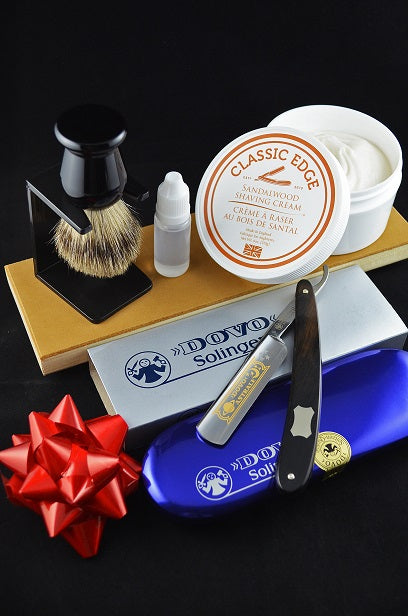 "Dovo Astrale Straight Razor Set ""Shave Ready"""