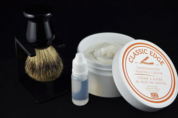 Badger Brush and Shaving Soap